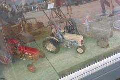 Part of Gene Kruse's Ferguson memorabilia display.