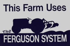 Ferguson System Sign