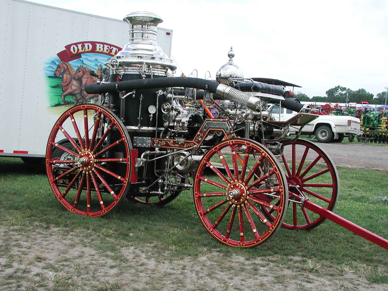 Early Fire Truck