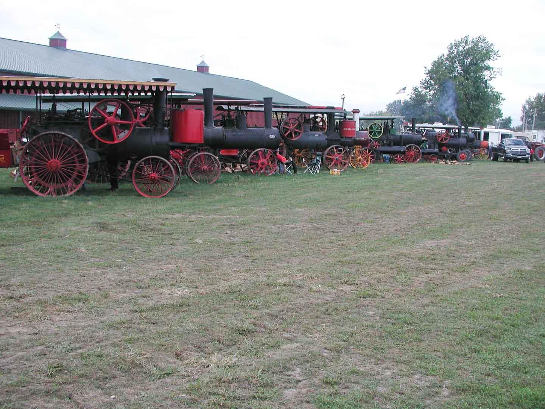 Steamer Lineup