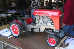 Custom Pedal Tractor by Jason Johnson for the Silent Auction
