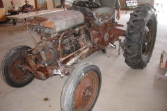 Fire-Hardened Tractor for Assembly Demo