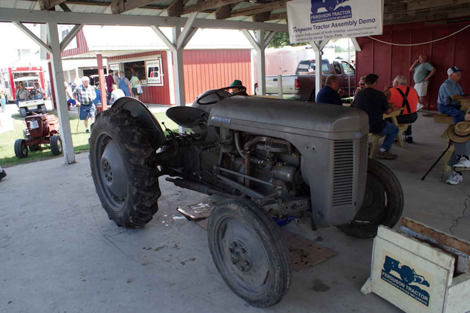 Jeff Miller's TO 20 assembly tractor