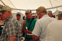 auctioneer Jerry Grogg donated his time