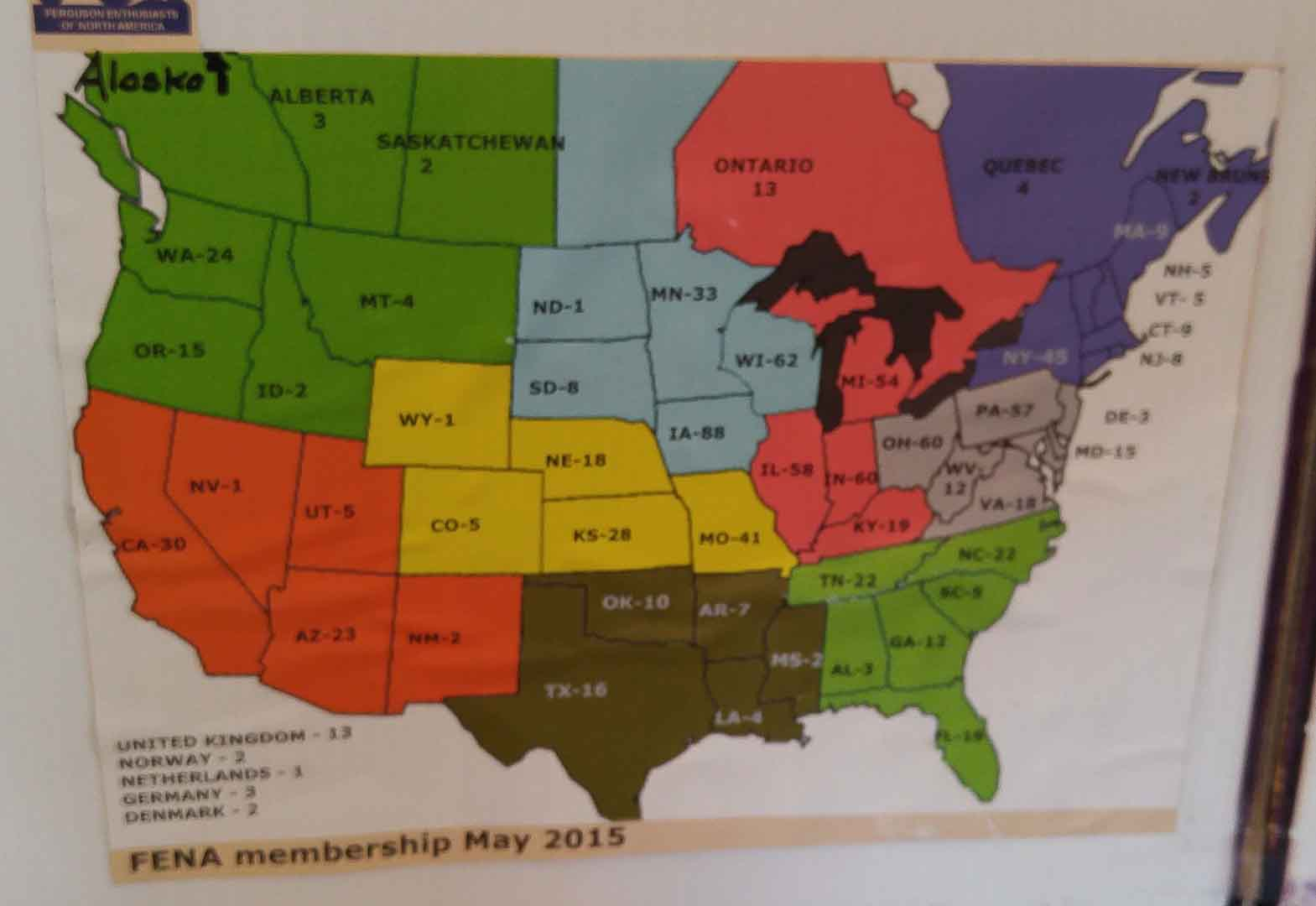 FENA membership location poster.