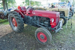 1958 Red TO-35 owned by Doug Sprague Newburgh, IA.