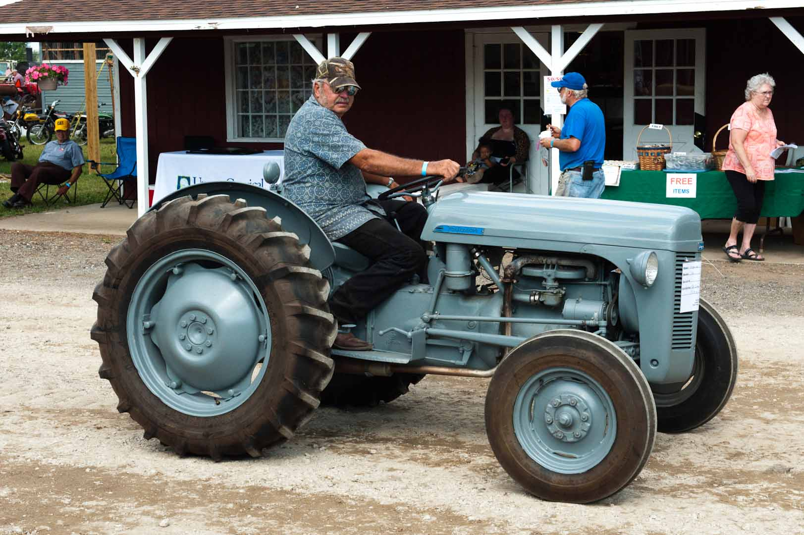 Jerry Smelter driving his 1952 TO-30.