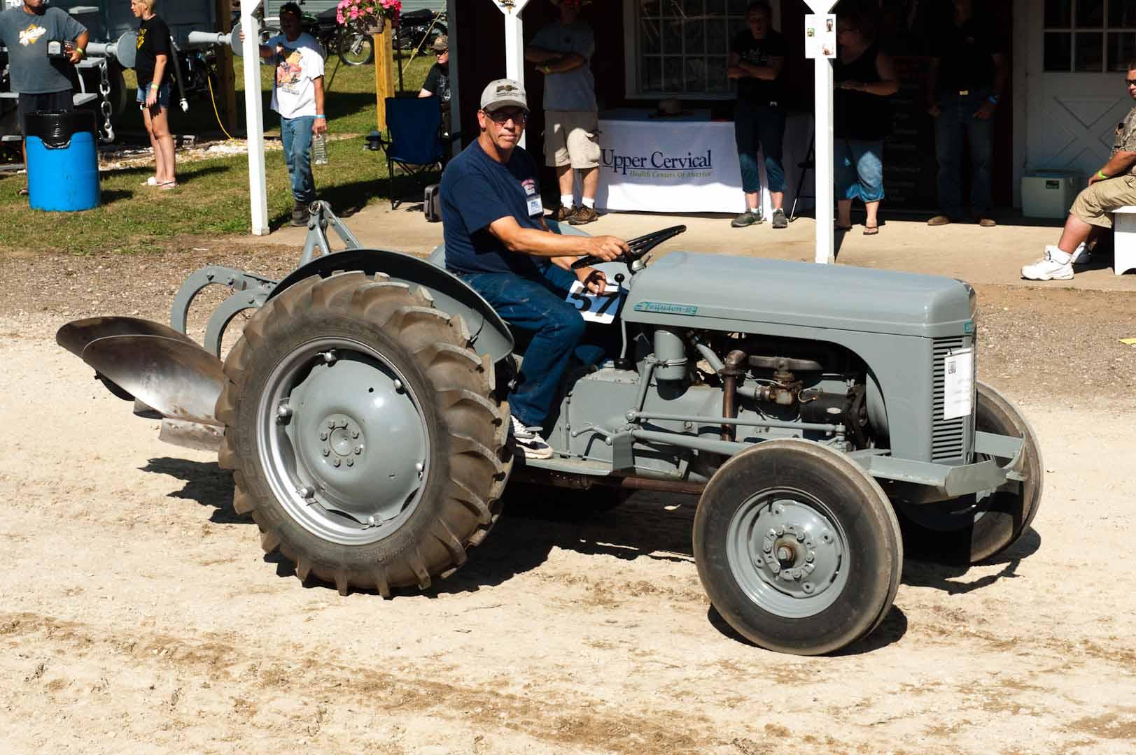 Don Feekes driving his 1952 TO-30.