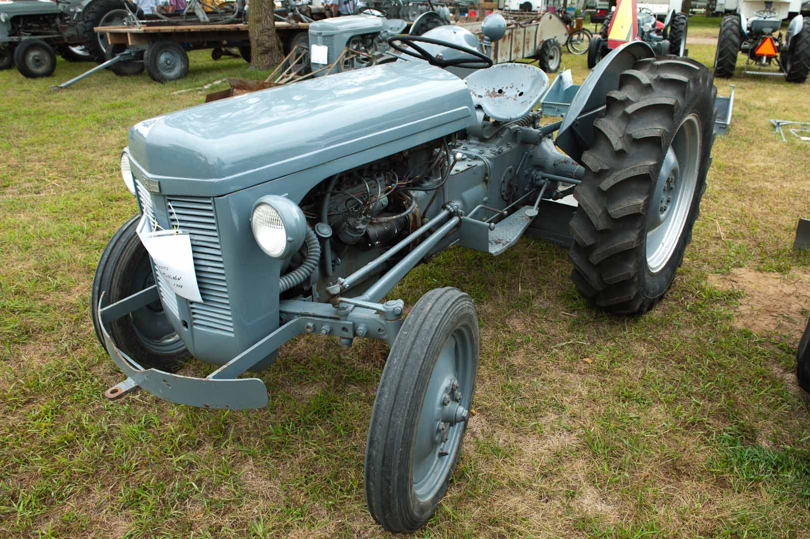 1948 TO-20 owned by Melvin Mullikin of Packwood, IA. SN TO-27. This tractor was made on the first or second day of production of the TO-20.
