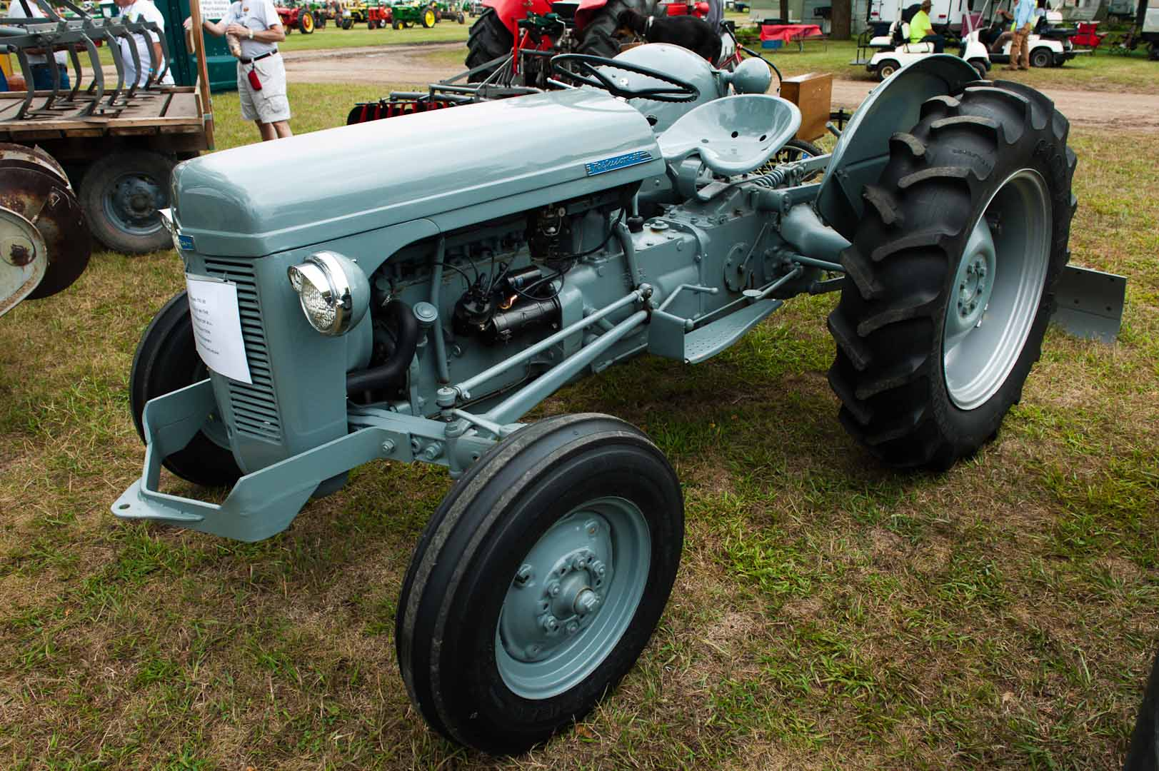 1954 TO-30 owned by Richard Downey of Coldwater, MI. SN TO-137777.