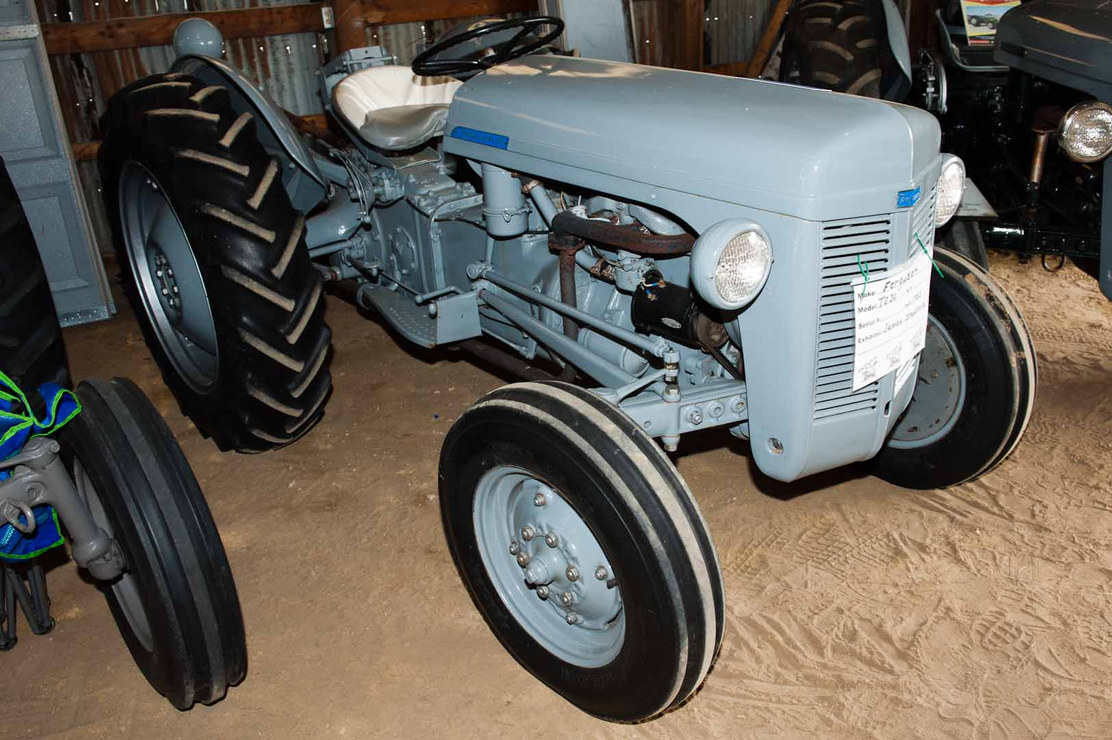 1953 TO-30 owned by James Stephens of Fredericksburg, IN. SN TO-124665.