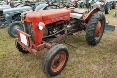 1960 MF-25 owned by Keith Oltrogge of Denver, IA. SN 1101075. This is an imported French tractor.