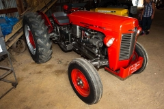 1961 MF-35 Deluxe Diesel owned by Jerry and Joyce Sall of Hamilton, MI. SN SNM214696.