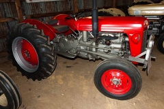 1958 TO-35 owned by the Sprague brothers from Newburgh, IN. SN SGM187591.
