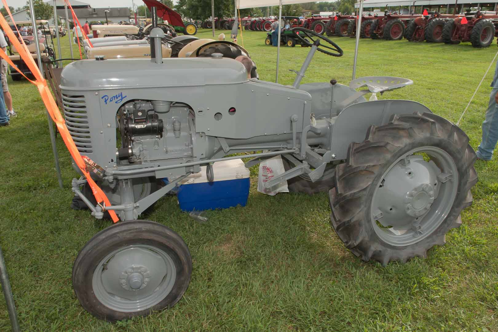 """1954 Ferguson Pony owned by Sonna Wente of Seymour, IN.  """"My first tractor""""."""