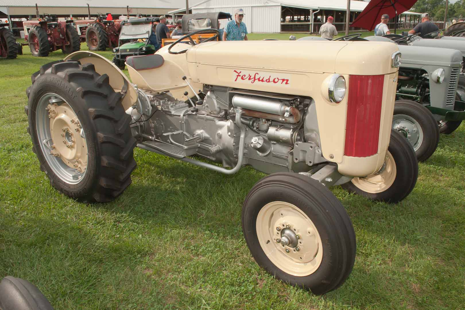 1957 F-40 SN SGM407297 owned by Larry Tourney of Springfield, OH.  Has power steering.