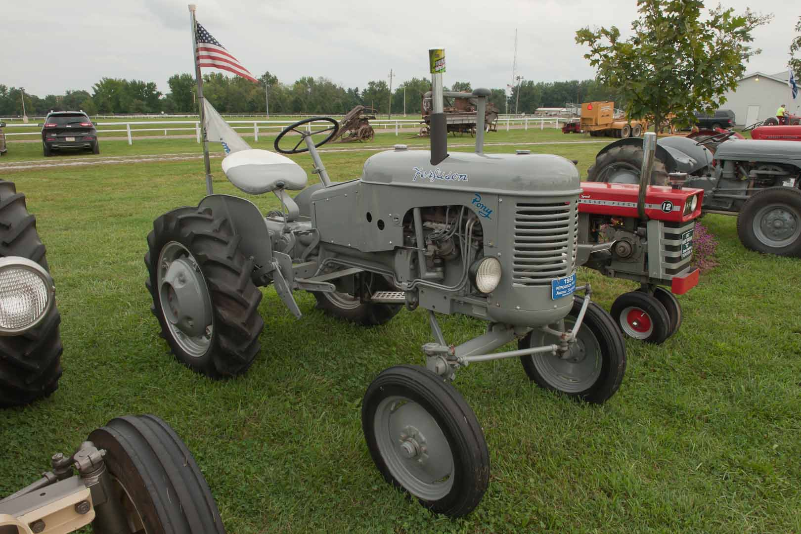 1954 Ferguson Pony  owned by James Stephens of Fredericksburg, IN.