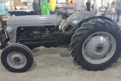 1955 TO-35 owned by Al Hoyt of Center Hill, FL.  Implement is a three bottom plow.