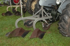 1956 TO-35 SN TO-167434 owned by the Sprague Brothers of Plainville, IL and Newburgh, IN.  Implement is a Ferguson two-bottom plow.  Their dad bought this tractor new and modified it with hand clutch and hand brakes after he had polio.  The plow was originally purchased by their grandfather.