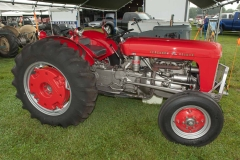 1957 Ferguson 35 Deluxe owned by Carl and Karin Morrison of Frazeysburg, OH
