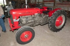 1961 MF-35 Deluxe SN SGM217442 owned by Ken Keeven of Highland, IL.