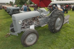 1952 TO-30 owned by Norm and Carol Fleagle of Indianola, IA.  Implement is a Ferguson convertible two-bottom plow.