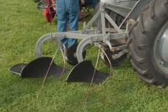1951 TO-20 SN 3551 owned by Richard Kimball of West Liberty, OH.  Implement is a Ferguson cast-mouldboard 14-AO-28 plow, with weed tuckers.