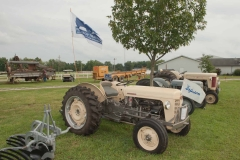 1957 TO-35 SN SGM174716 owned by Paul Boone of Sullivan, IN.  Implement is a POA-20 Ferguson Disc Plow.