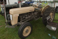 1957 TO-35 SN TO-172140 owned by the Sprague Brothers of Plainville, IL and Newburgh, IN.  Implement is a Ferguson two-bottom plow.